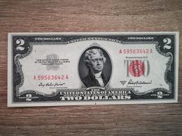 1953-A UNITED STATES TWO DOLLARS $2 (( AUNC )) - Bilglietti Della Riserva Federale (1928-...)
