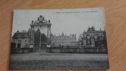 CPA - 1. Château De FRANCONVILLE - La Grille D'entrée - Franconville