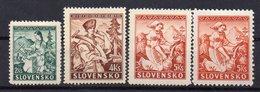 SLOVAKIA 1939 ,MH, 5KS  DIFFERENT PERFORATION - Neufs