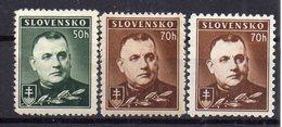 SLOVAKIA 1939 ,MH, 70H  DIFFERENT PERFORATION - Slowakische Republik