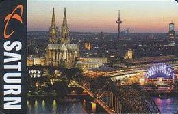 GERMANY Gift-card Saturn - Köln - Gift Cards