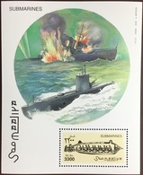 Somalia 2000 Submarines Minisheet MNH - Somalië (1960-...)