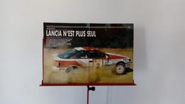 Ancienne Coupure De Presse Automobile De 1988 Rallye De L'Acropole-Lancia N'est Plus Seul - Autorennen