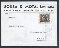 Envelope Com Stamp Dos 800 Anos Da Tomada De Évora Aos Mouros 1966. 800 Years From Taking Of Évora To The Moors. - 1910-... République