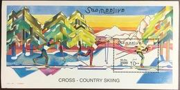 Somalia 2001 Cross Country Skiing Minisheet MNH - Somalië (1960-...)