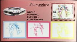 Somalia 2002 World Cup Minisheet MNH - Somalië (1960-...)