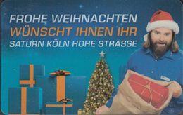 GERMANY Gift-card Saturn - Köln - Hohe Straße - Frohe Weihnachten - Gift Cards