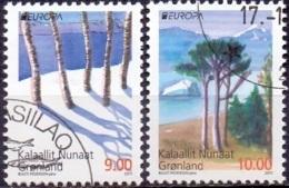 GROENLAND 2011 Europazegels GB-USED. - Groenlandia