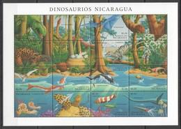 J1050 1994 NICARAGUA PREHISTORICS DINOSAURS DINOSAURIOS 1SH MNH - Stamps