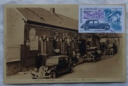 Carte Maximum Card  Automobile Traction Citroen  Gabon 1978 Bray Sur Somme - Voitures