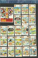 VIVO INTERNATIONAL 1965 Matchbox Labels THE NETHERLANDS WELKOM WELCOME SOYEZ LE BIENVENU HIGHLIGHTS DIFFERENT COUNTRIES - Matchbox Labels