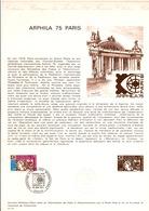 DOCUMENT FDC 1974 ARPHILA 75 - Documents De La Poste