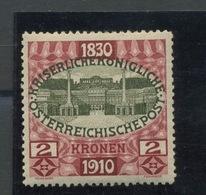 1910. 2 K.   Yv.133 **.  Postfrich.  Sans Charnière.  Cote 330,-euros - 1850-1918 Imperium