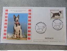 FDC MONACO 2014 : Exposition Canine, Le Bull Terrier - FDC