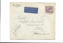 Brief Aus Berlin Nach Griechenland 1936 - Lettres & Documents