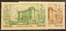 INDOCHINE 1939 - MLH - YT 209, 210 - 6c+2c 7c+3c - Indochine (1889-1945)