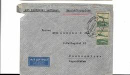 Brief Aus Berlin Nach Argentinien 1937, Etwas Lediert - Deutschland