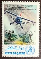 Qatar 1973 WHO 2d Aircraft MNH - Qatar