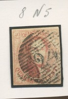 8.Aa 40c.   Joli Timbre 4 Marges. Cote. 130--euros - 1849-1850 Médaillons (3/5)