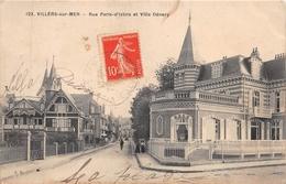 ¤¤  -   VILLERS-sur-MER    -   Rue Paris-d'Islins Et Villa DENERY      -   ¤¤ - Villers Sur Mer