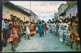 CONJUNTO FOLKLORICO SANTA CRUZ BOLIVIA. - Bolivia