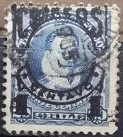 VALDIVIA-1 C ON 20 C-OVERPRINT - CHILE - 1904 - Chile