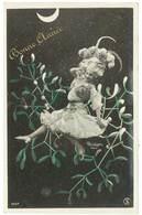 Cpa Fantaisie - Bonne Année - Femme , Gui ( Reutlinger ) - Mujeres