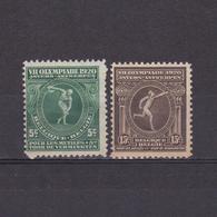 BELGIUM 1920, Sc# B48-B50, Olympic Games, Part Set, MH - Sonstige