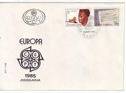YUGOSLAVIA FDC 2104-2105 - FDC