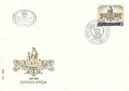 YUGOSLAVIA FDC 2188 - FDC