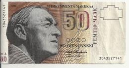 FINLANDE 50 MARKKAA 1986(1991) VF P 118 - Finlandia
