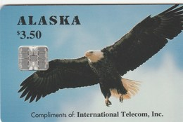 Alaska - Alaskan Bald Eagle - Tarjetas Telefónicas