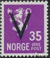 Norwegen 249X Postfrisch 1941 Aufdruckausgabe - Noruega