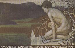 Museo Engiadinais St.Murezzan - Firmata E.-Vital        (A-221-200115) - Künstlerkarten