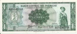 PARAGUAY  1 GUARANI L.1952 UNC P 193 B - Paraguay
