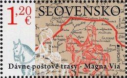 Slovakia - 2020 - Europa CEPT - Ancient Mail Routes – The Magna Via - Mint Stamp - Slowakische Republik