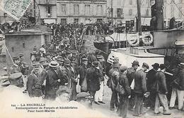 LA ROCHELLE ( 17 ) - Embarquement Des Forçats Pour St Martin - Prigione E Prigionieri