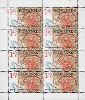 Slovakia - 2020 - Europa CEPT - Ancient Mail Routes – The Magna Via - Mint Miniature Stamp Sheet - Slowakische Republik