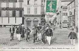 LA ROCHELLE ( 17 ) - Départ Pour Le Bagne Des Forçats BRANCHERY Et PARROT  Assassins De LANGON - Prison