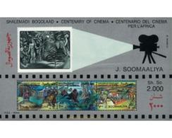 Ref. 61439 * MNH * - SOMALIA. 1995. CENTENARY OF CINEMA . 100 ANIVERSARIO DEL CINE - Somalië (1960-...)