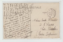 Hte GARONNE: Convoyeur BOULOGNE à TOULOUSE / CPA De 1913 - Posta Ferroviaria