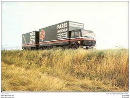 89  SENS  -  PARIS MORVAN  - Camion  Démenagement ;  ( MERCEDES ) - Camion, Tir