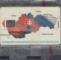 Slovak Republic 004 Mapa Slovenska II, Mint - Blister - Slowakije