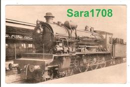 Locomotives BELGES, Série 9 à 4 Cylindres. ( VOIR 2 SCAN ). - Trains