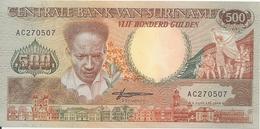 SURINAME 500 GULDEN 1988 UNC P 135 - Suriname