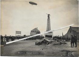 Poelcapelle  * (Photo Antony D'Ypres ,Ostende)  Monument Guynemer   (Armée - Guerre - Memorial - Gedenkteken - Zeppelin) - Langemark-Poelkapelle