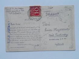 97 Austria KuK K.u.K.marine Navy Pola Kriegsmarine Ship Schiff Stamp Stampel 1916 SMS S.M.S. S M S Aspern Typ 1 - Guerre