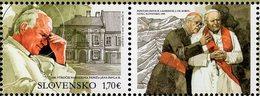 Slovakia - 2020 - Centenary Since Birth Of Pope John Paul II - Mint Stamp With Tab - Slowakische Republik