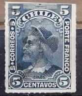 COLUMBUS-5 C - ERROR - CHILE - 1900 - Chile