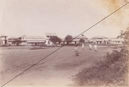 1902 Belle Photo De Madagascar Vue Vue De Majunga Provenance Maison Garnier 25x17cm - Lieux